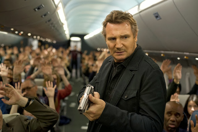 Liam Neeson as Bill Marks in Non-Stop 2014 movies still
