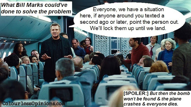 Non-Stop Liam Neeson meme movie still