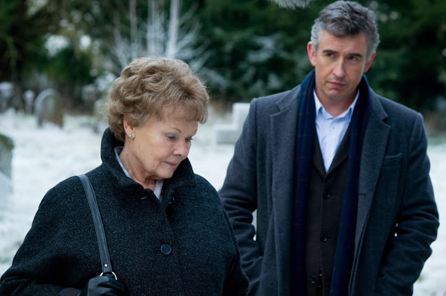 Philomena movie still - Judi Dench & Steve Coogan