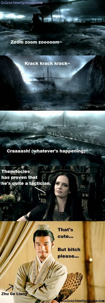 300 Rise of an Empire Artemisia Eva Green movie stills - Zhu Ge Liang meme