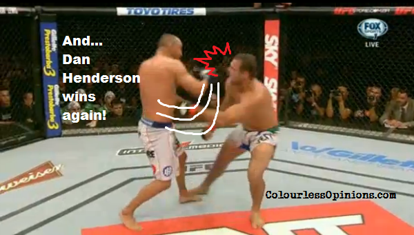 Dan Henderson breaks Shogun's nose in UFC Fight Night 38
