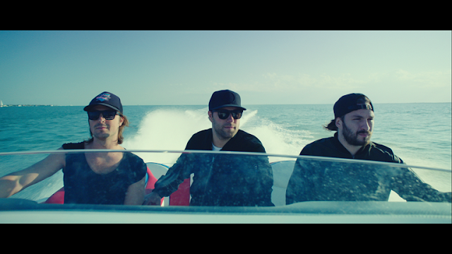 Swedish House Mafia Leave The World Behind 2014 movie still boat sea