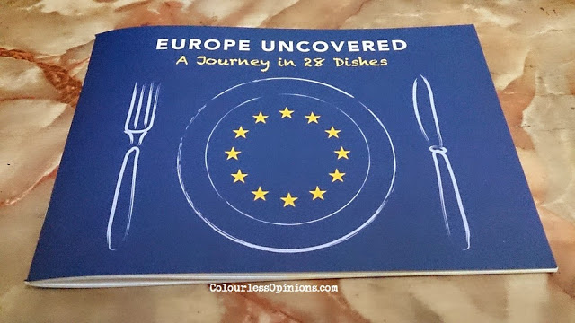 Europe Uncovered A Journey in 28 Dishes cookbook Malaysia