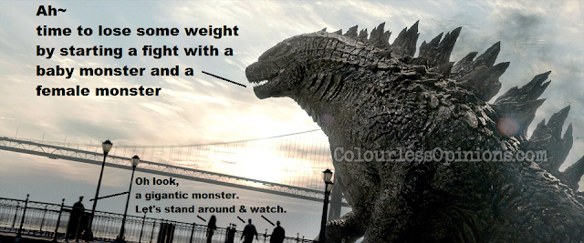 Godzilla 2014 movie still meme