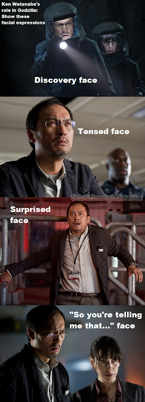 Ken Watanabe meme in Godzilla 2014 movie stills