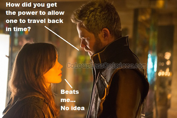 Shadowcat Iceman X-Men Days of Future Past movie meme