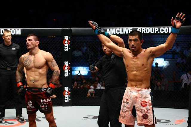 Eric Kelly defeats Rob Lisita in ONE FC 18 War of Dragons taiwan 2014