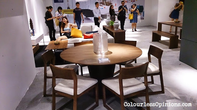 Stanzo Collection Mont Kiara Mall KL Malaysia - Stylist premium exclusive artistic furniture sofa, table and bed