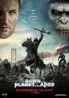 Dawn of the Planet of the Apes movie poster malaysia