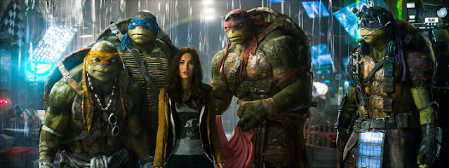 TMNT Ninja Turtles with Megan Fox movie still 2014