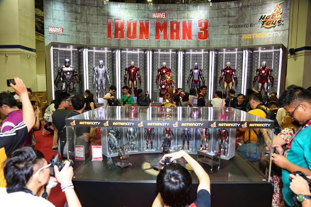 The Iron Man 3 Showcase at the 2013 Singapore Toy, Game & Comic Convention STGCC