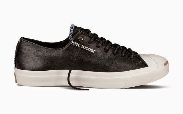 Converse Jack Purcell Fall 2014 Cross Stiches black