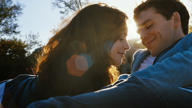 Love, Rosie movie still Lily Collins as Rosie Dunne and Sam Claflin as Alex Stewart