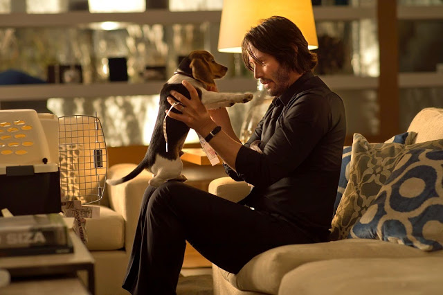 John Wick dog daisy keanu reeves movie still