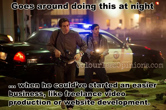 Nightcrawler 2014 Jake Gyllenhaal Riz Ahmed movie still meme
