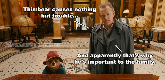 Paddington bear movie meme