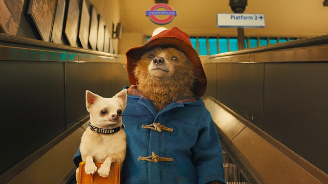 Paddington dog must be carried movie still