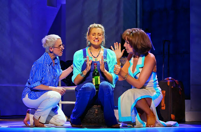 Rosie Donna Tanya Mamma Mia! musical international tour