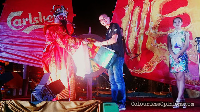 god of prosperity steer of fortune carlsberg malaysia cny 2015 oasis ara damansara