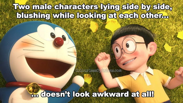 Stand by Me doraemon meme