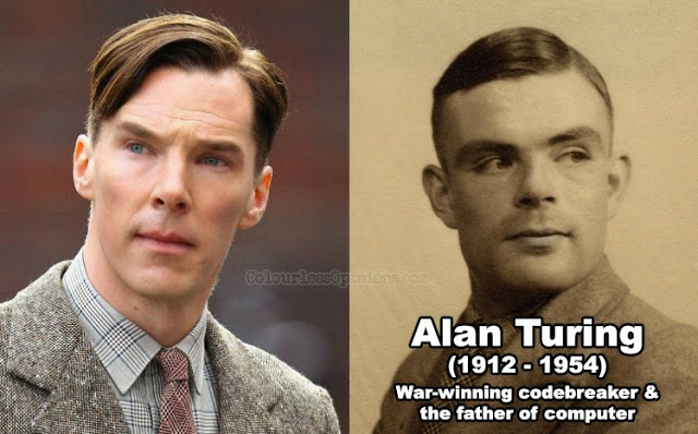 alan turing vs. benedict cumberbatch imitation game