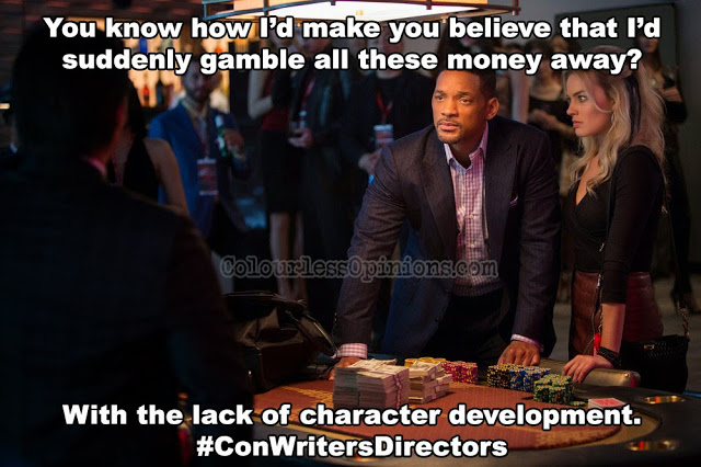 Focus movie meme card gamble