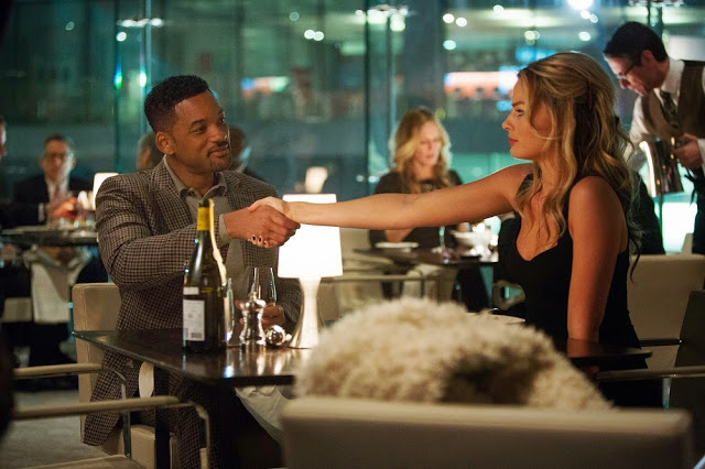 Focus movie still will smith margot robbie