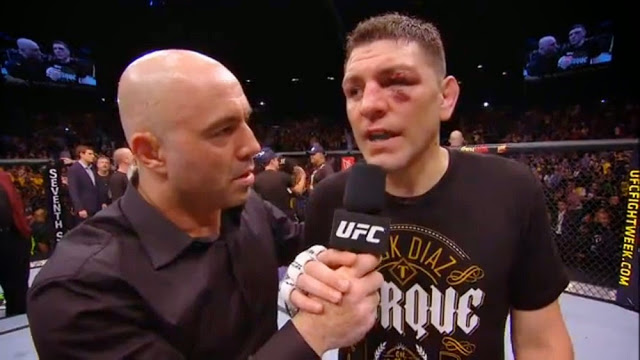 Nick Diaz injury UFC 183