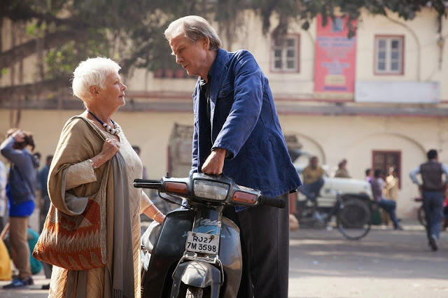 judi dench bill nighy second best exotic marigold hotel 2 still
