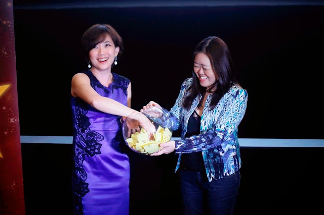 GSC CEO Koh Mei Lee GSC Media Appreciation Night 2015 lucky draw