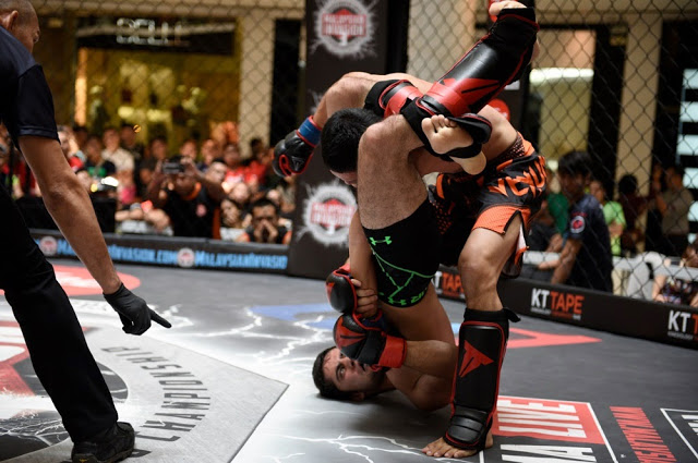 MIMMA3 ladder match foreign pride paradigm arm bar