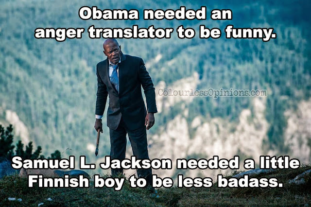 Samuel L. Jackson Big Game meme