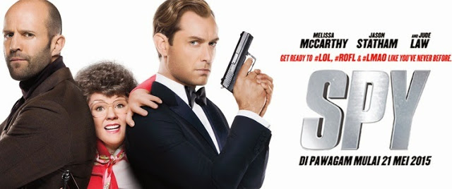 Spy movie banner