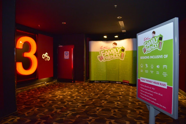 TGV Cinemas Family Friendly session