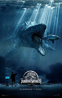 Jurassic World uip malaysia teaser poster