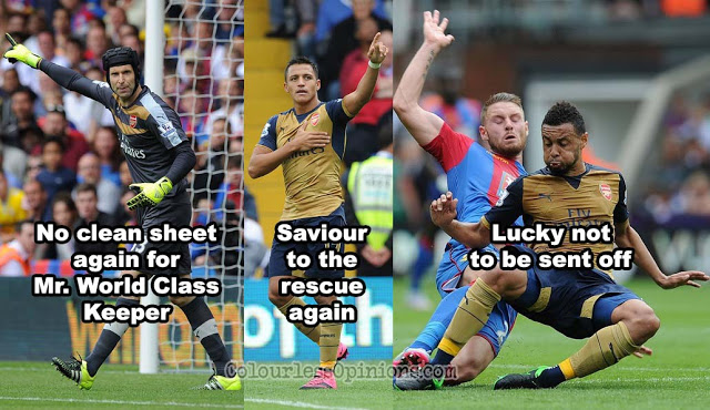 Crystal Palace Arsenal 2015 meme