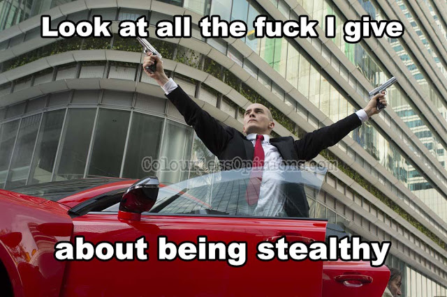 Hitman Agent 47 movie meme