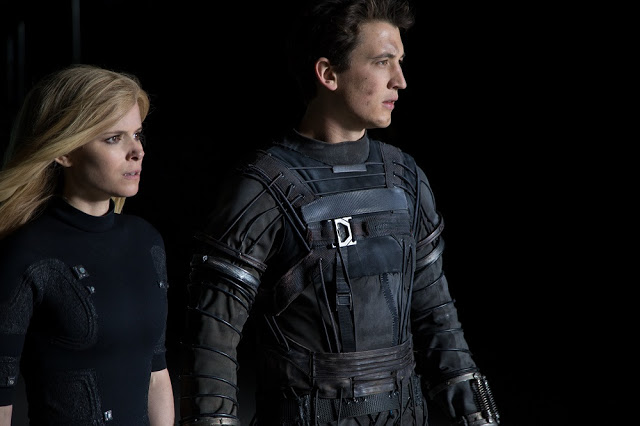 Kate Mara Miles Teller Fantastic Four still