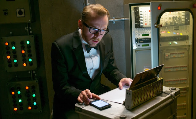 Mission Impossible 5 Rogue Nation still simon pegg