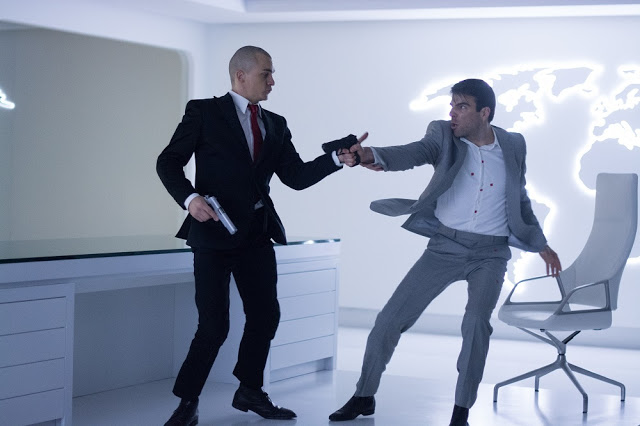 Rupert Friend Zachary Quinto Hitman Agent 47 still