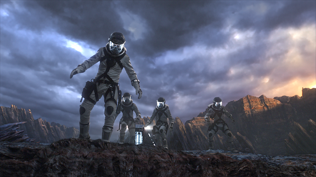 Zero dimension planet Fantastic Four still