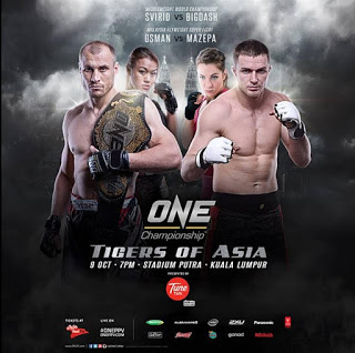 one fc tigers of asia poster
