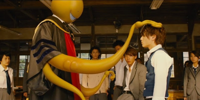 assassination classroom live action still UT koro sensei nagisa