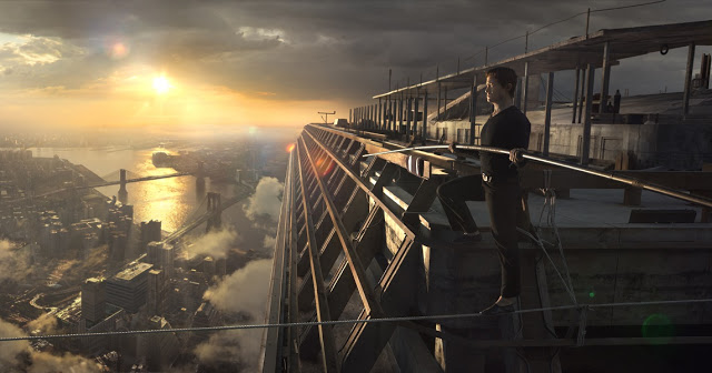 Joseph Gordon-Levitt Philippe Petit The Walk movie still