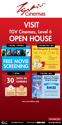 TGV Cinemas Sunway Putra Grand Opening open house