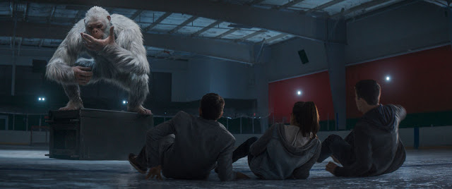 goosebumps snow monster movie still