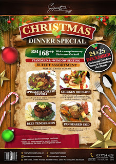 The Roof Signature Christmas Dinner Special 2015