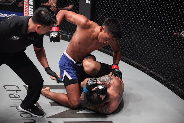 keanu subba rayner kinsiong one fc clash of heroes