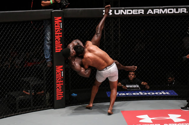 agilan thani kouame takedown one fc clash of heroes kl