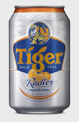 Tiger Radler Mandarin Orange